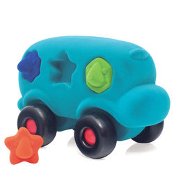Bus éducatif à formes turquoise