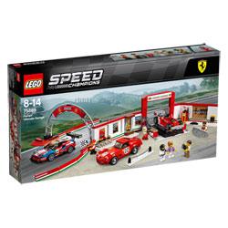 75889 - LEGO® Speed Champions Le stand Ferrari