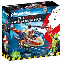 9385 - Playmobil Ghostbusters Venkman avec hélicoptère