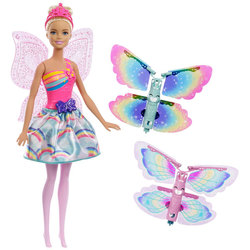 Barbie Dreamtopia-Fée papillon blonde