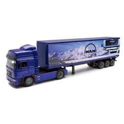 Camion MAN F2000 avec remorque