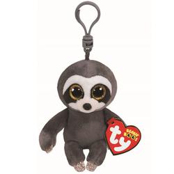 Beanie Boo's- Porte-clés Dangler le paresseux gris