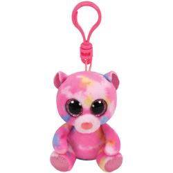 Beanie Boo's - Porte-clés Franky l'ours multicolore