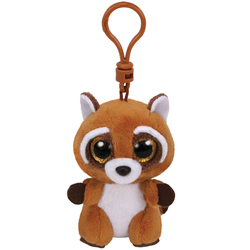 Beanie Boo's - Porte-clés Rusty le raton laveur