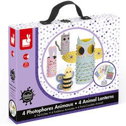 Kit Créatif - Photophores animaux