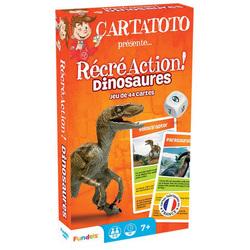 Jeu de cartes Récré Action dinosaures