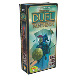 7 Wonders extension Duel Panthéon