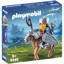 9345 - Combattant nain et poney Playmobil Knights