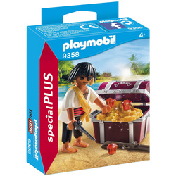 9358 - Pirate avec coffre au trésor Playmobil Pirates
