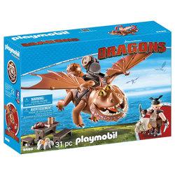 9460 - Playmobil Dragons Varek et Bouledogre