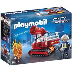 9467 - Pompier avec robot d'intervention Playmobil City Action