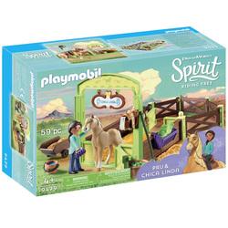 9479 - Apo et Chica Linda avec box Playmobil Spirit