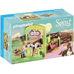 9480 - Abigaëlle et Boomerang avec box Playmobil Spirit