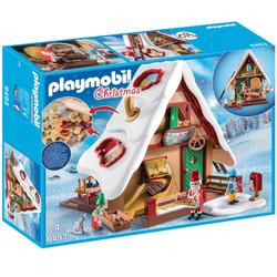 9493 - Playmobil Christmas - Atelier de biscuit du Père Noël avec moules