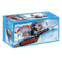 9500 - Chasse-neige avec agent Playmobil Family Fun