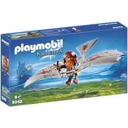 9342 - Nain avec deltaplane Playmobil Knights