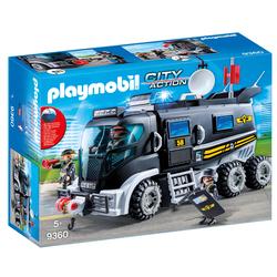9360 - Playmobil City Action - Camion des policiers d'élite avec sirène
