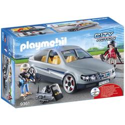 9361 - Voiture banalisée policiers Playmobil City Action