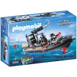 9362 - Bateau et policiers d'élite Playmobil City Action