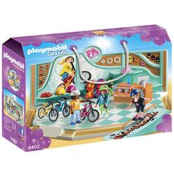 9402 - Boutique de skate et vélos Playmobil City Life