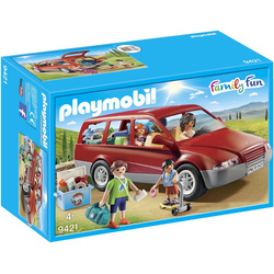 9421- Famille avec voiture Playmobil Family Fun