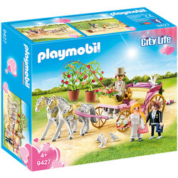 9427 - Playmobil City Life Carrosse et couple de mariés