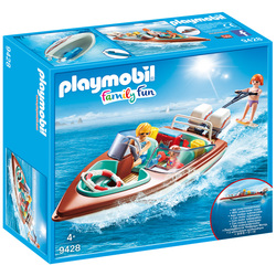 9428 - Playmobil Family Fun - Vacanciers avec vedette