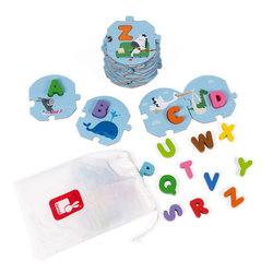 Puzzle J'apprends l'alphabet 28 pièces
