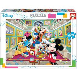 Disney Mickey - Puzzle La Galerie d'art de Mickey - 1000 pièces