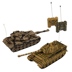 Coffret 2 Tanks radicommandés