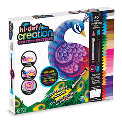 Boite de crayons ORB hi-def création 63 pièces
