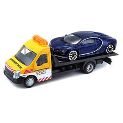 Camion dépanneuse avec voiture
