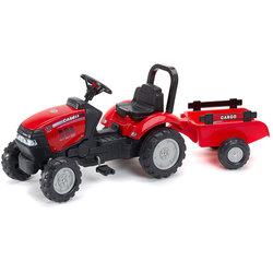 Tracteur à pédales CASE IH rouge