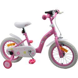 Vélo 14 pouces Kidbike rose