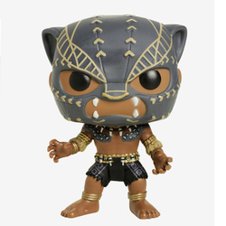 Figurine Black Panther guerrier 274 Avengers Funko Pop
