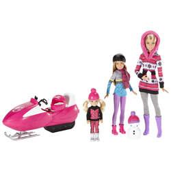 Coffret Barbie et ses sœurs avec motoneige