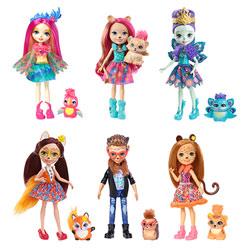 Enchantimals-Coffret de 6 poupées