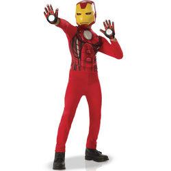 Déguisement Iron Man avec gants 7/8 ans