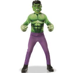 Déguisement Hulk avec gants 3/4 ans