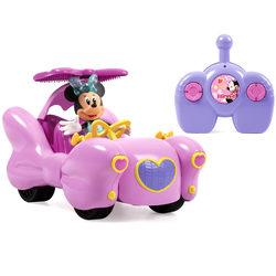 Cabriolet radiocommandé de Minnie Fashion Doll