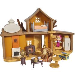 Masha & michka - maison de masha 2 etages + accessoires