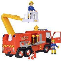 Sam le pompier - camion pompier jupiter sons et lumières + 1 figurine