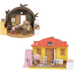 Coffret hutte et maison Masha