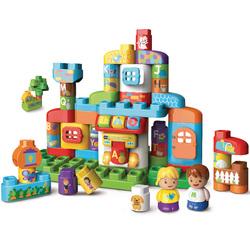 Blocs de construction Ma maison alphabet interactive - Bla Bla Blocks