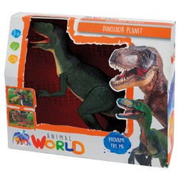 Dinosaure animé sonore et lumineux