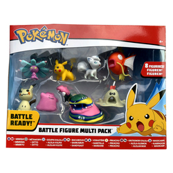 Pokémon-Pack de 8 figurines