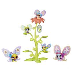 Littlest Petshop-Pack de 6 Petshops Papillons