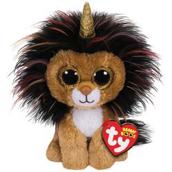 Beanie boo's - Petite Peluche Ramsey le lion licorne 15cm