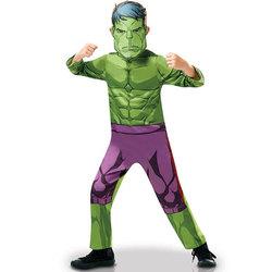 Déguisement classique Hulk série animée 5/6 ans
