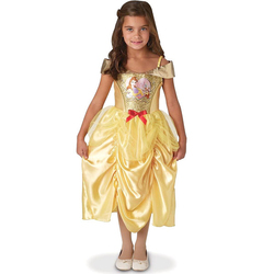 Déguisement Belle robe sequins 5/6 ans - Disney Princesses